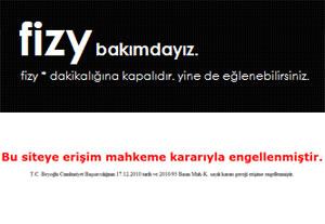 fizy Fizy Engellendi