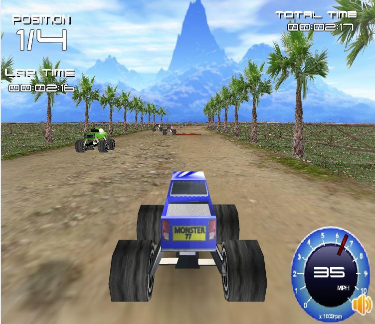 3D Dev Araba Yarışı