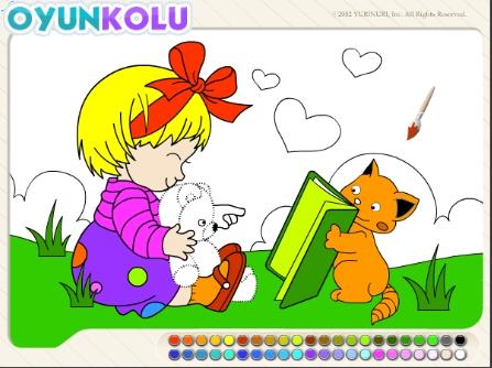 Boyama Sayfasi 2 Boyama Sayfası   Rengarenk Boyalar