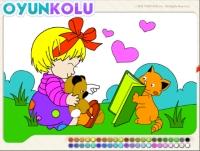 Boyama Sayfasi Kucuk Boyama Sayfası   Rengarenk Boyalar