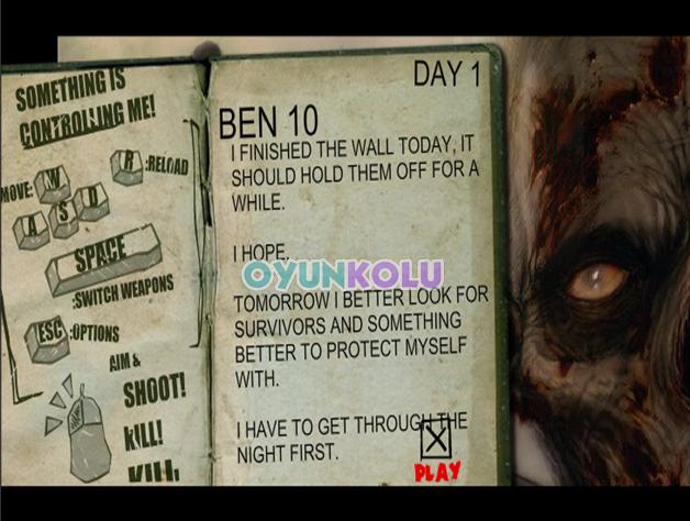 ben 10 zombi gunu 1 Ben 10 Zombi Günü   Ben 10 ve Düşman Zombiler
