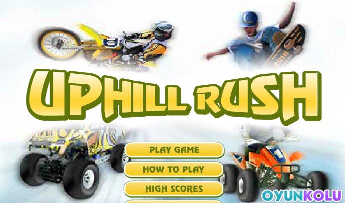 Uphill Rush - Araç Yarışlarına Sende Katılarak Sürücülüğünü İspatla..!