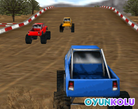İki kişilik 4x4 araba yarışı - sert yarışlara hazır olun - oyun