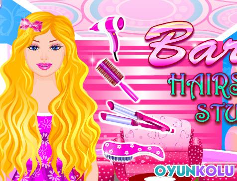 Barbie Puanlı Saç Yapma