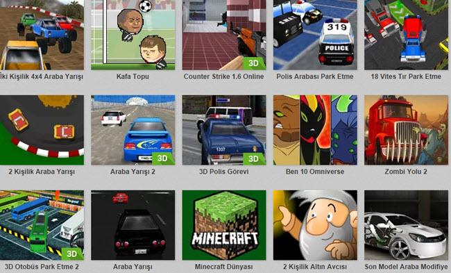 en popüler oyunlar