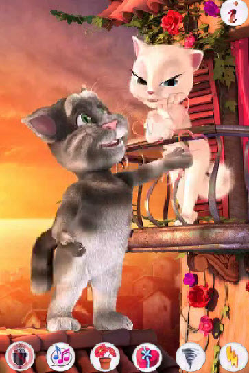 Talking Tom Konustur