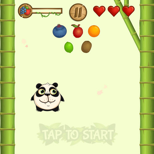 Panda Meyve Toplama 1